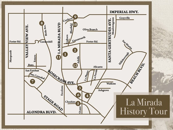 History Tour Map