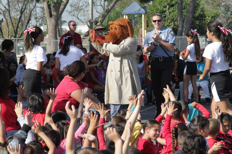 Red Ribbon Week Rallies Promote Drug-Free Lifestyle
