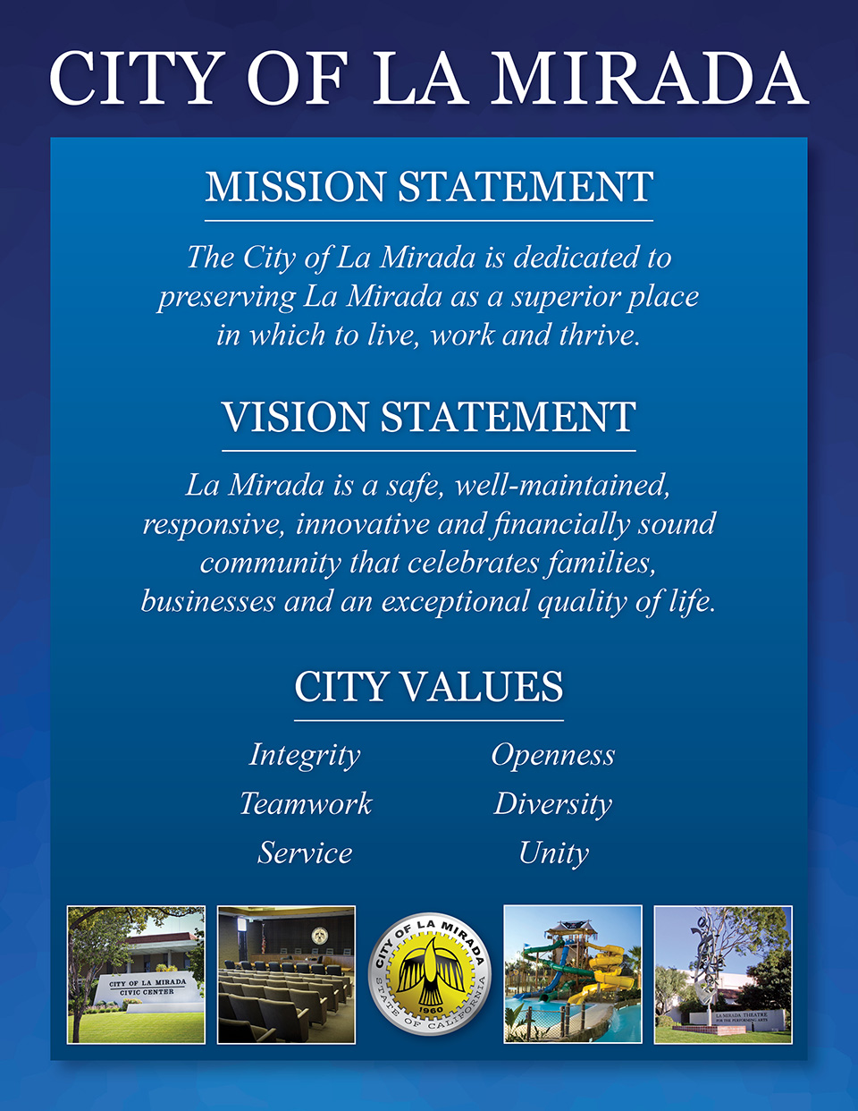 MISSION STATEMENT 2015