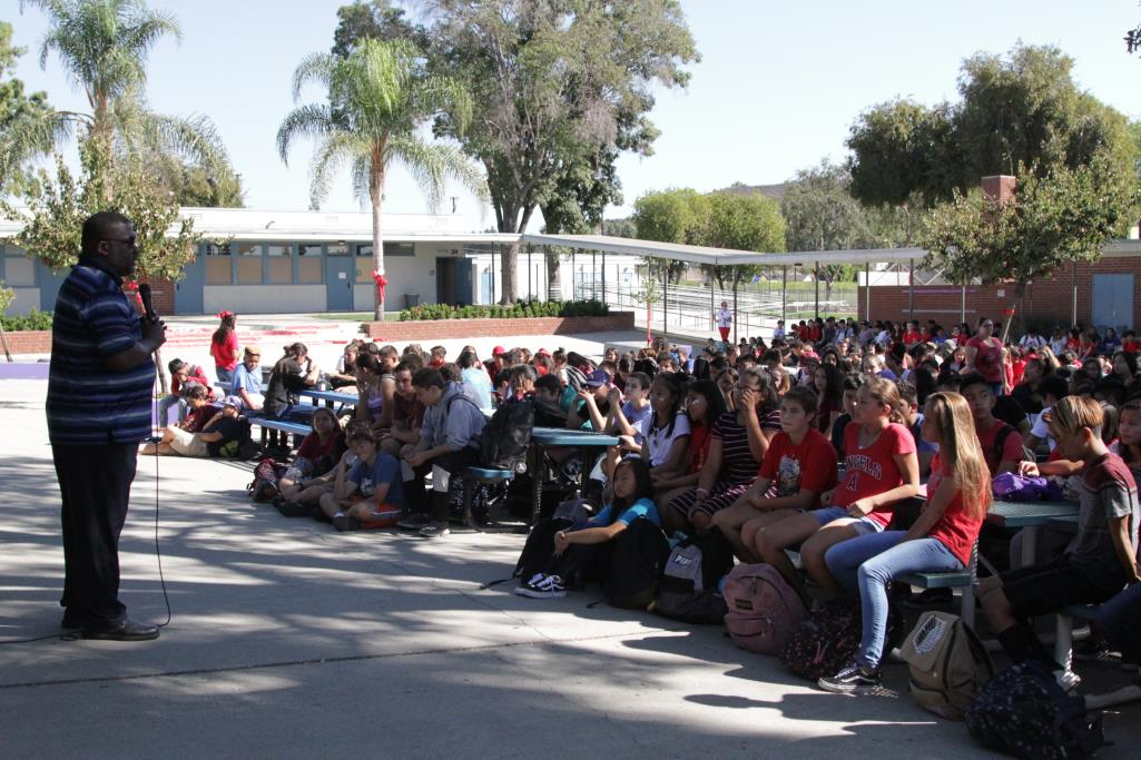 Red Ribbon Week Assembly