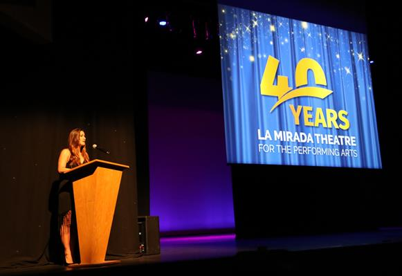 Theatre's 40th anniversary